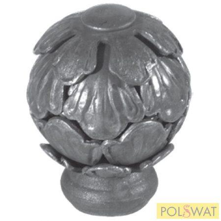 kovácsoltvas gomb fogantyú/ajtóbehúzó Ø65x90mm