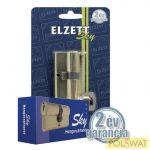ELZETT sárgaréz SK5-30+30-SR-3K zárbetét 3db kulccsal