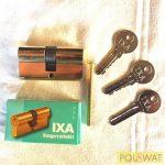 KABA ELZETT IXA-30/30-3k zárbetét 3 kulccsal