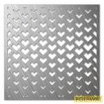 lézervágott lemez 700x700x2mm natúr acél