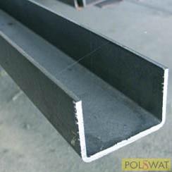 U profil 30x30x2 hidegen hajl. - 6000mm - 25mm-es támasztógörgőhöz