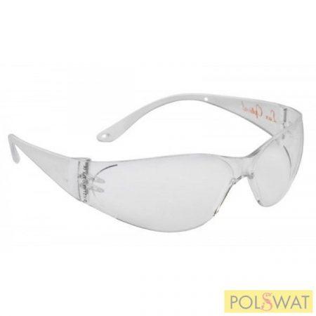 Lux optical munkavédelmi szemüveg Pokelux víztiszta védőszemüveg 60550