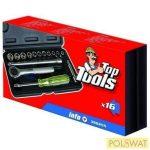 """Top Tools dugókulcs készlet 16 részes 1/4"""""""