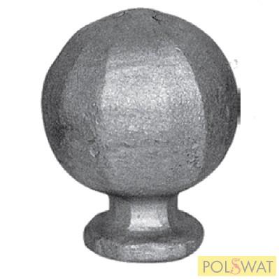 kovácsoltvas csúcselem gömb 70mm Ø55mm