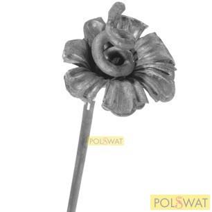 kovácsolt virág díszelem kála közepes 40xØ90 akció a készlet erejéig