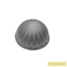 félkör oszlopsapka kicsi Ø60x2,5mm