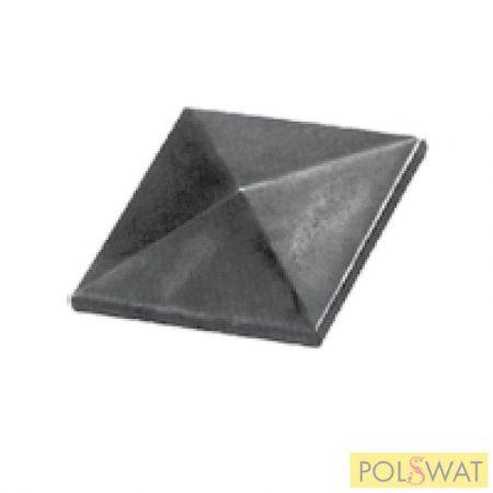 oszlopfedő oszlopsapka csúcsos négyszög 40x40mm