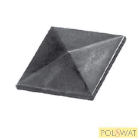 oszlopfedő oszlopsapka csúcsos négyszög 60x60mm