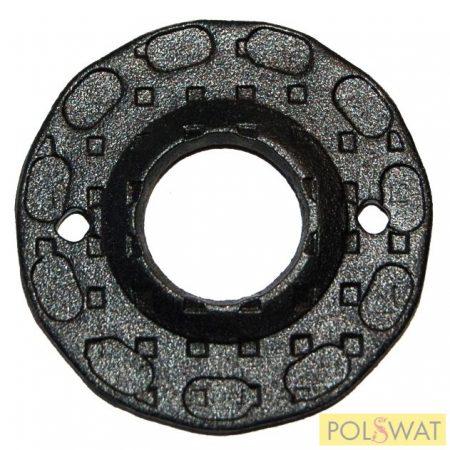 zártakaró díszelem kilincshez Ø50x2mm festett fekete
