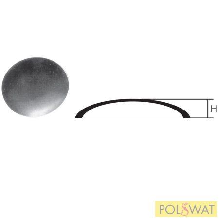 oszlopfedő oszlopsapka kupak gömbszelet Ø60x15x2mm