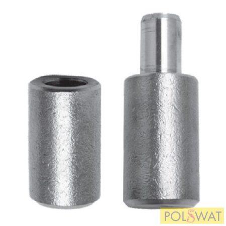 zsanér hegeszthető sima Ø40x120 csap: Ø22mm
