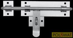 retesz (tolózár) horganyzott Ø16 hossz: 340mm lakatolható csavarozható
