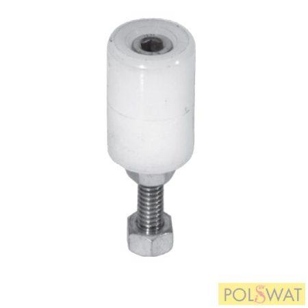 poliamid támasztógörgő Ø25 tolókapuhoz és úszókapuhoz