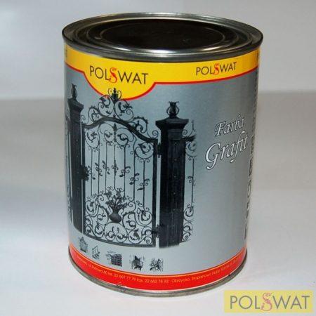 grafit festék 0,8L alapozó+fedő egyben poliviniles