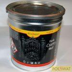 matt fekete festék 3L alapozó+fedő egyben poliviniles