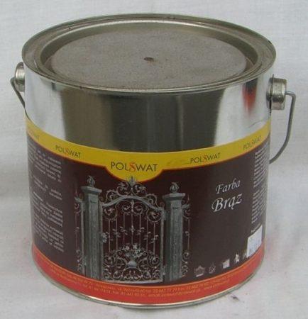 barna festék 3L alapozó+fedő egyben poliviniles