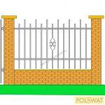 kerítés Zipp 1,2x2 festetlen, legyártjuk egyedi méretben is!
