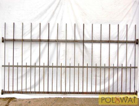 kerítéspanel Zipp 2,5mx1,3m alul sűrítéssel utolsó darabok