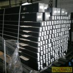 oszlop kerítéspanelhez 50x50x2 - 2m - kiárusítás