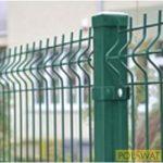 ponthegesztett hálós kerítés horganyzott + zöld Ral6005 1520x2500 osztás 75x200mm
