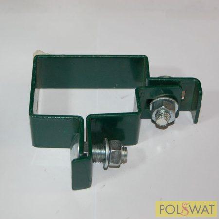 bilincs ponthegesztett hálós panelhez sarok - Ral6005 zöld akció a készlet erejéig
