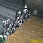 oszlop ponthegesztett hálós panelhez 60x40 - 2m horganyzott akció a készlet erejéig