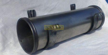újság szórólaptartó cső Ø135x400mm festetlen