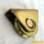 tolókapu görgő ᴓ60 V-profil beépítő villával