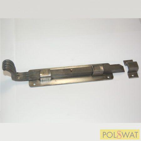 tolózár (retesz) 40-es zártszelvényre reteszvas: 12x12-210mm talp: 37x160mm