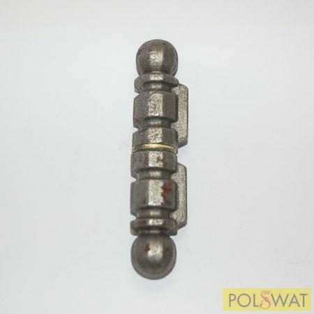 hegeszthető zsanér Ø21x105 csap: Ø12mm