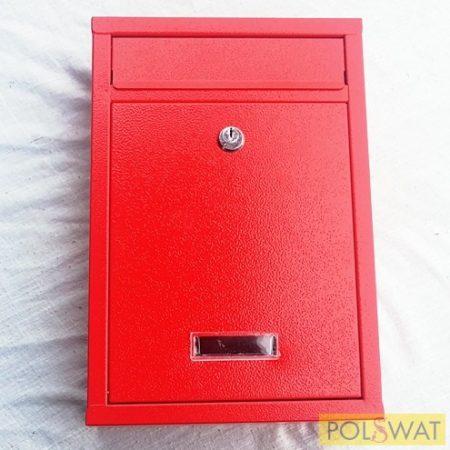 postaláda modern 315x210x80mm piros