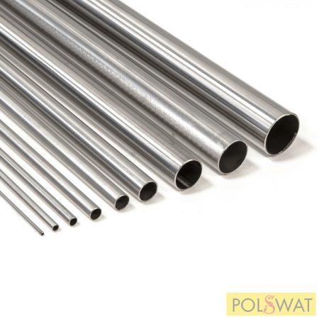 Rozsdamentes polírozott cső 42,4x2,0-3000