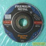 tisztítókorong 115x6 Premium acél EU minőség! Lengyel gyártás!
