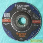 tisztítókorong 125x6 Premium acél EU minőség! Lengyel gyártás!