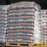 fapellet tüzelőanyag 5db raklap - 350db 15kg-os zsák - ENplus A1 minőségű