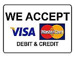 Bankkártya az üzletben.